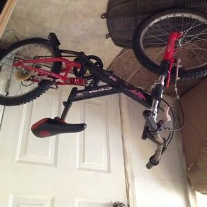 fully suspended kids mtn bike