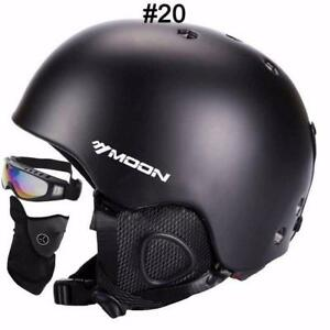 Set of 3 Ultralight  Snow   Helmet Size S/M/L/XL+ Snow Goggles + Snow Dust mask + We pay shipping