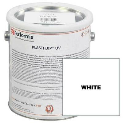 Lot Of 2 - 1 Gallon Can Plasti Dip Unthinned Uv Concentrate - Matte White