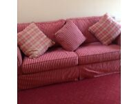 Queen Sofa bed with matching chair