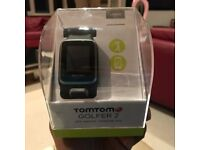 TOMTOM GOLFER 2 GPS WATCH - BLACK- LARGE - SEALED