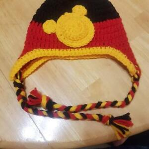 Mickey Mouse Sz 6-9 mths Hat