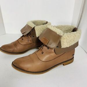 LACOSTE -  bottes femme - CUIR - taille 9 US