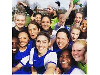 WOMENS FOOTBALL LONDON. 3 TEAMS. FOOTBALL FOR ALL