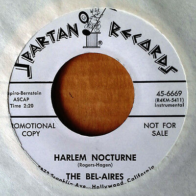 THE BEL-AIRES - HARLEM NOCTURNE b/w ADAM & EVE - SPARTAN 45 - WLP - 1964](Adam And Eve Novelties)