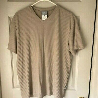 Versace Jeans Couture Short Sleeve Top Beige Size XXXL 3XL Made In Italy
