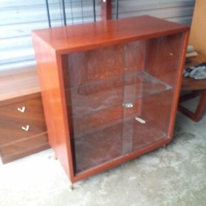 Cabinet with glass doors