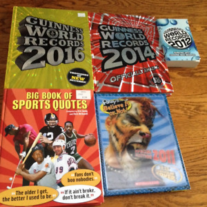 Guinness World records and other books