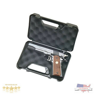 MTM Compact Pocket Handgun Pistol Gun Lockable Black Storage