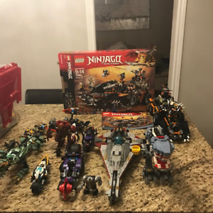Great Lego Sets and Assorted Lego Pieces Bin for Sale!