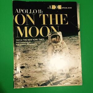 Look Magazine Apollo 11 On The Moon Issue 1969 Armstrong Norman