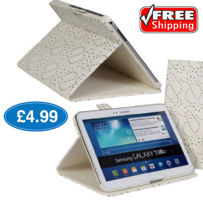 BLING! Samsung Galaxy Tab 2 10.1 Folio Case Cover Wallet for Models 5100 & 5110  ()