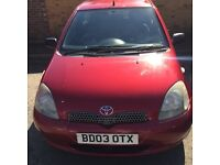 Toyota Yaris 2003 998 cc for Sale
