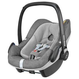 Maxi-Cosi Pebble Plus i-Size Group 0+ Baby Car Seat, Nomad Grey NEW