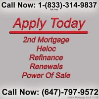 Need a 2nd 3rd Construction & Private Residential Mortgage?