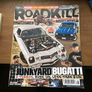 RoadKill magazine back issues wanted