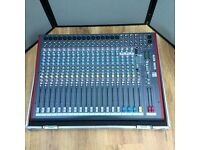ALLEN & HEATH 22 ZED FX MIXER, AND CASE