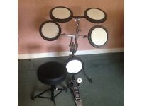 Beginners drum pad set