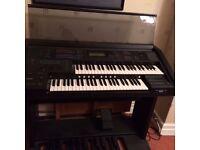 Organ- Yamaha Electone EL500- excellent condition