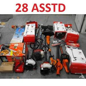 28 ASSTD POWER TOOLS LOT - 119905297 - EDGER TRIMMER BLOWER LAWN CARE GRASS MAINTENANCE SEE COMMENTS