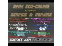 BMW ECU CODING, MOBILE MECHANIC, SERVICING, REPAIR, DASHCAM ETC - NOT ECU REMAP