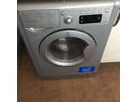 Washer Dryer INDESIT Freestanding Silver