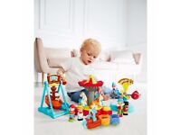 New HappyLand Boys and Girls Funfair Playset Toy From 12 months