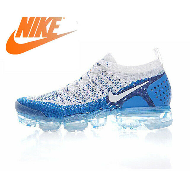 men's nike air vapormax flyknit 2 running shoes white