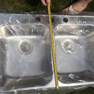 New sinks and more