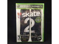 Skate 2 & Left for Dead 2 (Left4Dead2) on xbox 360