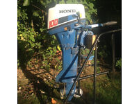 Honda 10Hp four stroke outboard Engine