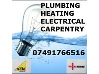 07491766516 - PLUMBER - ELECTRICIAN - HEATING ENGINEER- CARPENTER