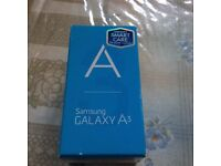brand new boxed Samsung galaxy A3 £250.00 - whatsapp/email me if u want this item