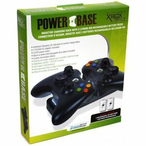 dreamGEAR Xbox 360 Power Base Induction Charger - Standard Editi