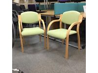 Wooden Frame Stacking Chair
