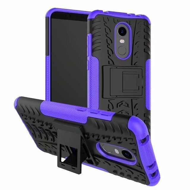 buy popular 45310 18e8b Details about Rugged Hybrid Armor Shockproof Hard Case Stand Cover For  Xiaomi Redmi 5 Plus