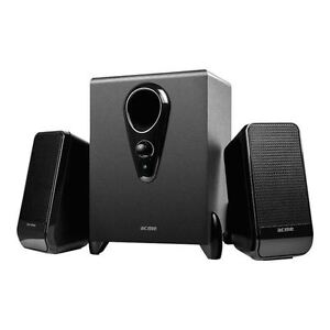 2.1 TV Speaker System Subwoofer Compact Surround Sound Sub - Compatible LG LED
