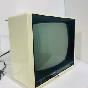 RETRO - petit écran TV blanc - smal TV screen