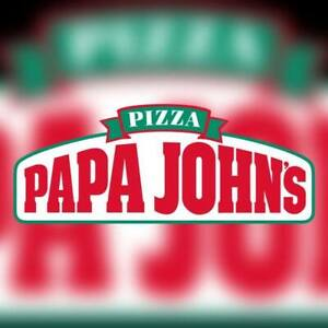 Hiring delivery drivers for papa John's.
