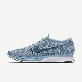 Nike Flyknit racer macaron pack RARE blueberry