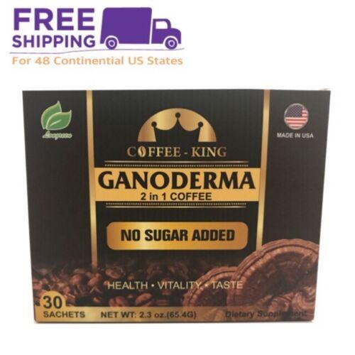 Ganoderma Coffee - Reishi Coffee Mix- Instant 2-in-1 Mushroom Coffee. All Nat...