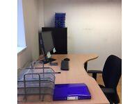 Four Large Office Desks Excellent Condition