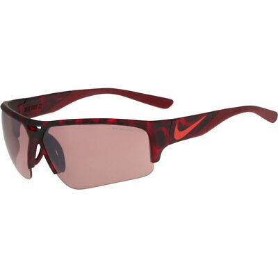 NIKE GOLF X2 PRO E SUNGLASSES MATTE GYM RED TORTOISE / MAX SPEED TINT LENS (Red Tinted Sunglasses Men)