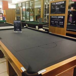 8 NEW BILLIARD TABLES MUST SELL BEFORE SUNDAY! Caroline Springs Melton Area Preview