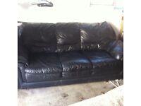 **FREE** 2 & 3 seater leather sofas