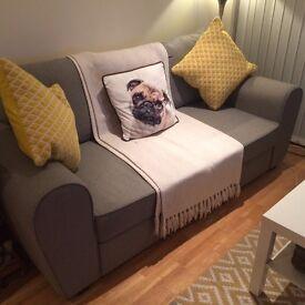 Argos Sofa Bed - Grey - 2yrs Old - Good Condition