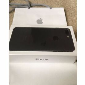 iPhone 7 Plus 256gb Matt Black - Brand New Sealed in Box - All networks - Warranty until March 2019