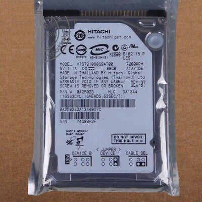 7200 Laptop-festplatte (Hitachi 80GB IDE 2,5 Zoll Festplatte 7200 RPM Laptop Notebook HTS721080G9AT00)