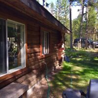 SPACIOUS LOG CABIN ON 1.25 ACRES