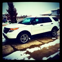 2013 Ford Explorer X-Police All wheel drive Suv 156,000km $16995